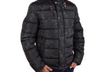 Мъжко зимно яке - 1120 - черно
