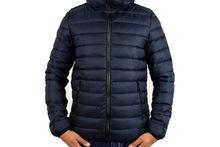 Зимно мъжко яке - 1124 - тъмно синьо