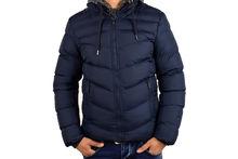 Мъжко зимно яке - 1125 - тъмно синьо