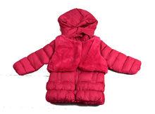 Уникално зимно детско яке с елек - 8117 - розово от 3 до 7 г.