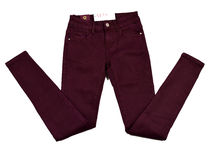 Дамски есенно - зимен панталон - BON BON - бордо