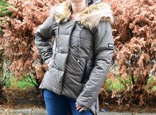 Зимно дамско яке - 1625 - маслено зелено