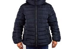 Зимно мъжко яке - 1121 - тъмно синьо до 58 размер