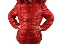 Зимно дамско яке - 1628 - червено