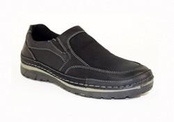 Мъжки обувки - 0906 - ЕСТЕСТВЕНА КОЖА - черни