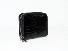 Визитник - 604 - черен релефен лак