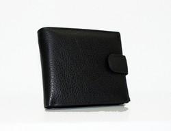 Мъжки портфейл ЕСТЕСТВЕНА КОЖА - 801 - черен