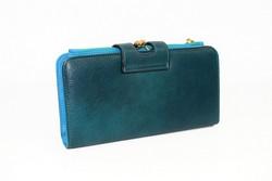 Дамско портмоне тип малка чанта- 520 - маслено зелено