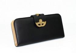 Дамско портмоне тип малка чанта  -521 - черно