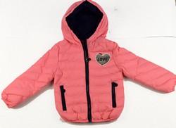 Детско яке за момичета от 4 до 12 г. - 3001 - розово