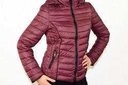 Дамско пролетно - есенно яке - 1520 - бордо