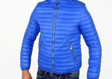 Мъжко пролетно - есенно яке - 1119 - светло синьо