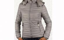 Пролетно - есенно дамско яке - 1525 - сиво