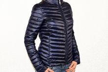 Пролетно - есенно дамско яке - 1527 - тъмно синьо