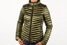 Пролетно - есенно дамско яке - 1527 - тъмно зелено