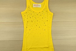 Дамски елегантен потник - 6001 - жълт