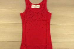 Дамски елегантен потник - 6001 - червен