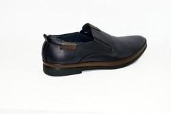 Актуални мъжки обувки - 6001 - тъмно сини