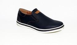 Комфортни мъжки обувки - 6002 - тъмно сини