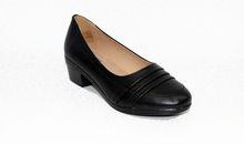 Дамски обувки на нисък ток - 0092 - черни