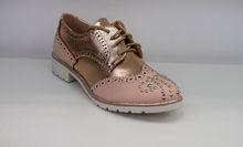 Дамски обувки с капси - 0095 - розови
