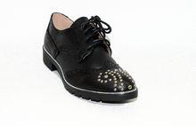 Дамски обувки с капси - 0095 - черни