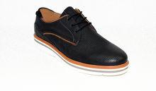 Дамски обувки ЕСТЕСТВЕНА КОЖА - 6602 - тъмно сини