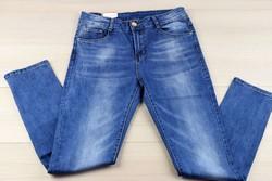Дамски дънки макси размер - MOON GIRL - светло сини