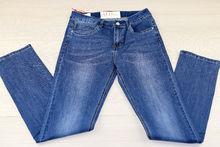Дамски дънки макси размер - SIMPLY - тъмно сини