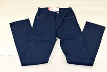 Дамски панталон голям размер - SUNBIRD - тъмно син