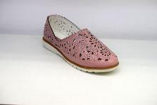 Дамски обувки ЕСТЕСТВЕНА КОЖА - 6601 - розово