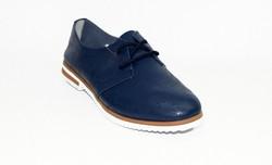Дамски обувки ЕСТЕСТВЕНА КОЖА - 6603 - сини
