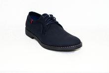 Мъжки официални обувки - 6009 - тъмно сини