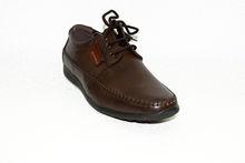 Мъжки официални обувки - 6010 - тъмно кафеви