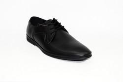 Мъжки официални обувки - 6011 - черни