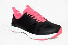 Дамски маратонки - 8010 - черно/розово