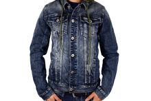 Мъжко дънково яке - 1128 - тъмно синьо