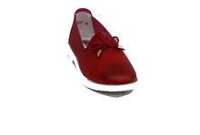 Дамски обувки ЕСТЕСТВЕНА КОЖА - 6604 - червени
