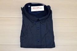 Мъжка риза с къс ръкав в макси размери - BIRINDELLI 04 от 3XL до 6XL