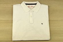Мъжка тениска с яка - RYS 07 - бяла