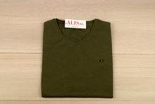 Мъжка тениска СЕ СЕ 05 - тъмно зелена