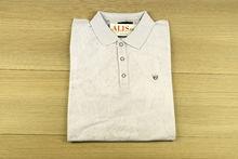 Мъжка тениска с яка -MCS 06 - бяла