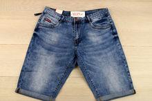 Къси мъжки дънки - VIMAN 01 - светло сини от 30 до 38 размер