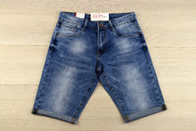 Къси мъжки дънки -VIMAN 02 - сини от 30 до 42 размер