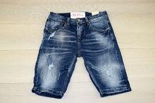 Мъжки къси дънки - GRESS 02 - тъмно сини от 30 до 38 размер