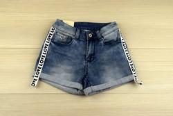 Къси дамски дънкови панталонки - 8809 - сини