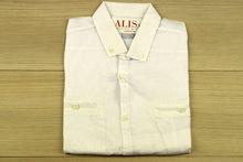 Мъжка риза с къс ръкав - BACARDA 05 - бяла