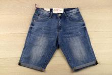 Мъжки къси дънки - SUNBIRD - светло сини  размер от 30 до 42