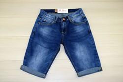Мъжки къси дънки - M.SARA - тъмно сини размери от 30 до 41