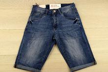 Къси мъжки дънки - SUNBIRD - сини размер от 29 до 38